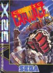 Cosmic Carnage Mega Drive 32X Box