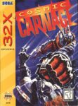 Cosmic Carnage Sega 32X Box