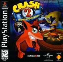 Crash Bandicoot 2 Cortex Strikes Back Box