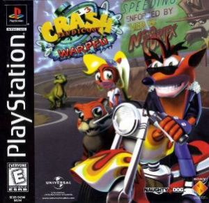 Crash Bandicoot 3 Warped Box
