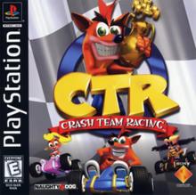 Crash Team Racing Box