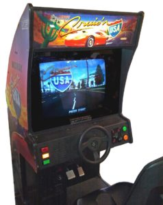 Cruis'n USA Arcade Cabinet Cockpit