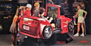 Cruis'n USA Arcade Deluxe Cabinet Flyer