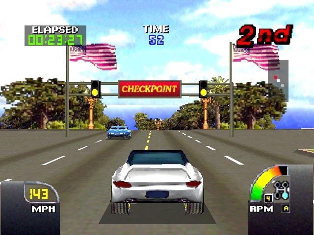 Cruis'n USA - Checkpoint