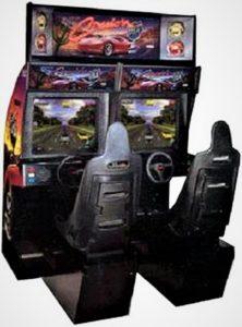 Cruis'n USA Dual Arcade Cabinet