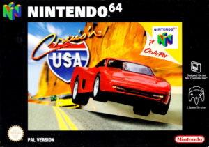 Cruis'n USA European Box