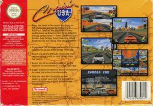 Cruis'n USA European Box Back