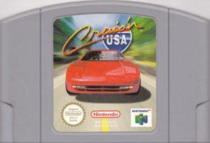 Cruis'n USA European Cartridge