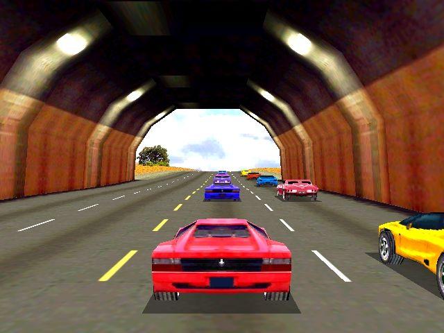 Cruis'n USA - Tunnel