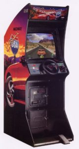 Cruis'n USA Upright Arcade Cabinet