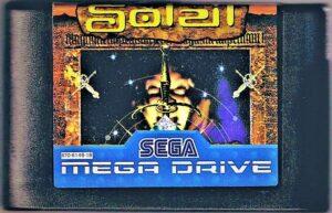 Crusader of Centy European Mega Drive Cartridge