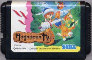 Crusader of Centy Japanese Mega Drive Cartridge