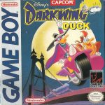 Darkwing Duck Game Boy Box