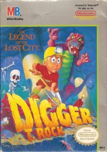 Digger T Rock Legend of the Lost City Box
