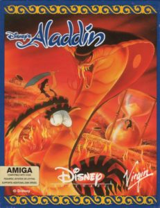 Disney's Aladdin Amiga Box