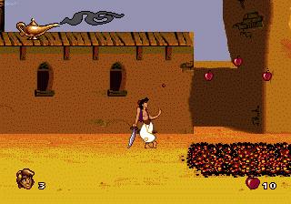 Disney's Aladdin Genesis - Agrabah Market