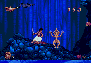 Disney's Aladdin Genesis - Cave