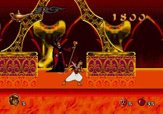 Disney's Aladdin Genesis - Jaffar