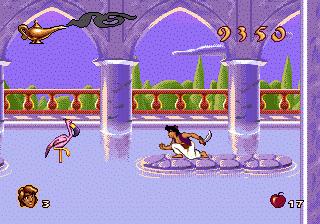 Disney's Aladdin Genesis - Sultan's Palace