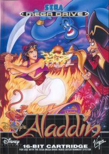 Disney's Aladdin Mega Drive Box