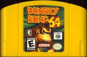 Donkey Kong 64 Cartridge