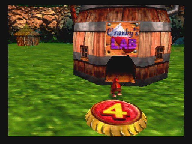 Donkey Kong 64 - Cranky's Lab