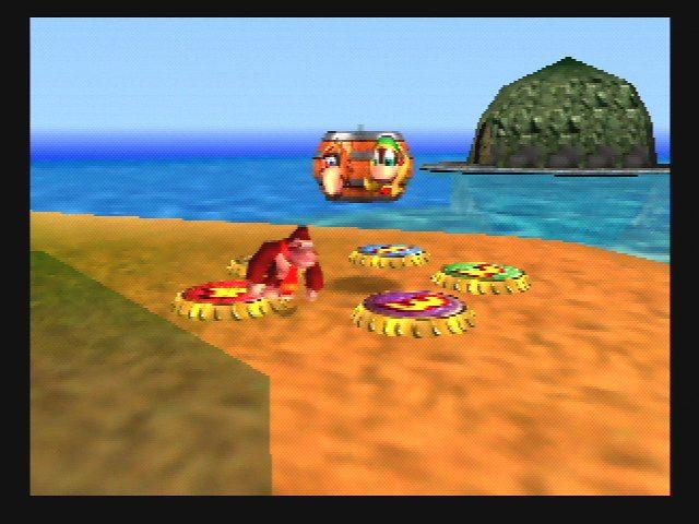 Donkey Kong 64 - DK Island