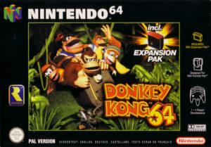 Donkey Kong 64 European Box