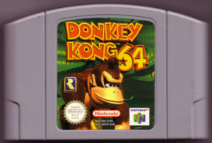Donkey Kong 64 European Cartridge