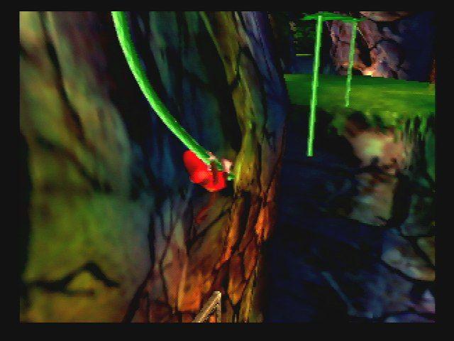 Donkey Kong 64 - Swinging on Veins