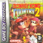 Donkey Kong Country 2 Diddy's Kong Quest GBA Box