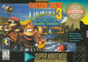 Donkey Kong Country 3 Dixie Kong's Double Trouble! Box