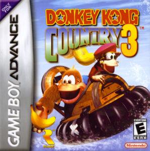 Donkey Kong Country 3 GBA Box