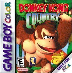 Donkey Kong Country GBC Box