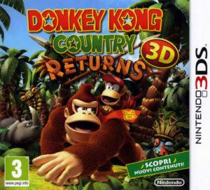 Donkey Kong Country Returns 3D Box