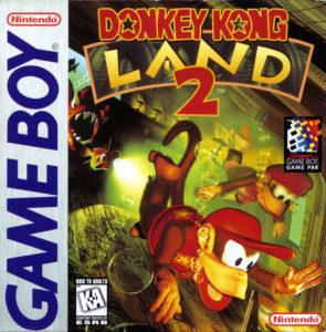 Donkey Kong Land 2 Box