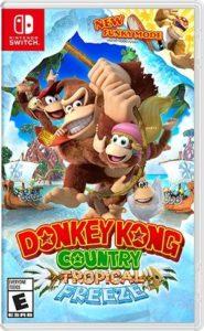 Donkey Kong Tropical Freeze Switch Box