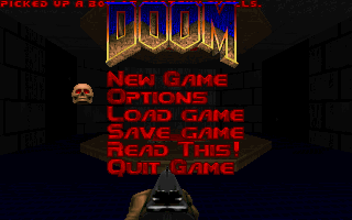 Doom Main Menu