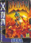 Doom Mega Drive 32X Box