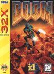 Doom Sega 32X Box
