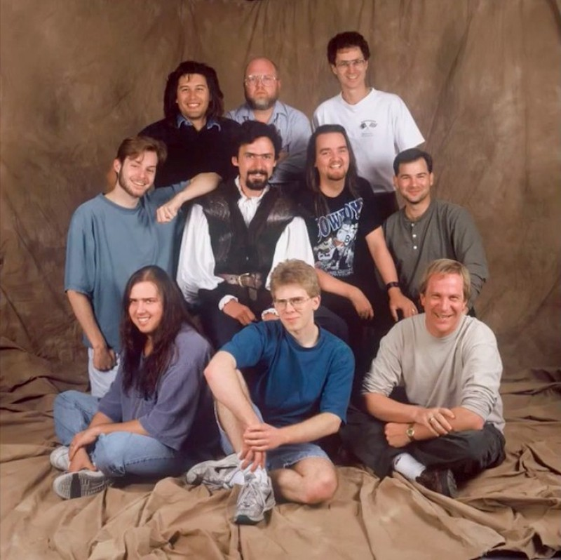 Doom Team - ID Software 1993