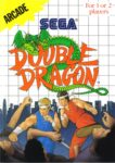 Double Dragon Sega Master System Box