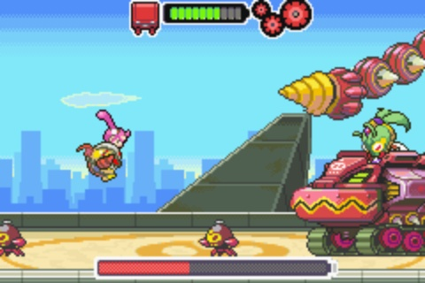 Drill Dozer - Boss Battle 2