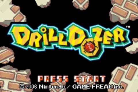 Drill Dozer - Title Screen