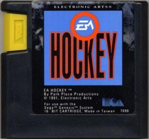 EA Hockey Cartridge