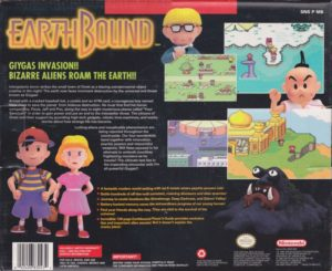 EarthBound Box Back