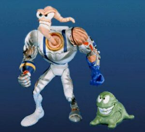 Earthworm Jim Battle Damage