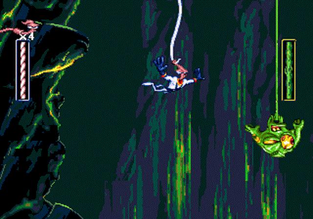 Earthworm Jim - Bungee Jump