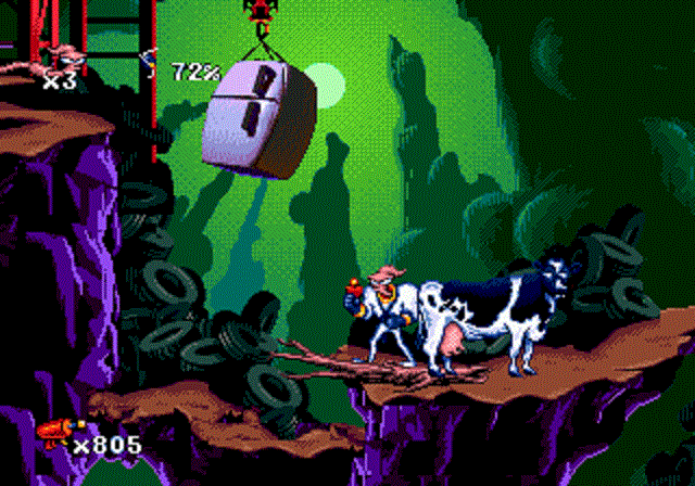 Earthworm Jim - Cow