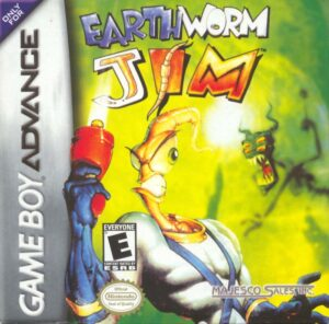 Earthworm Jim GBA Box